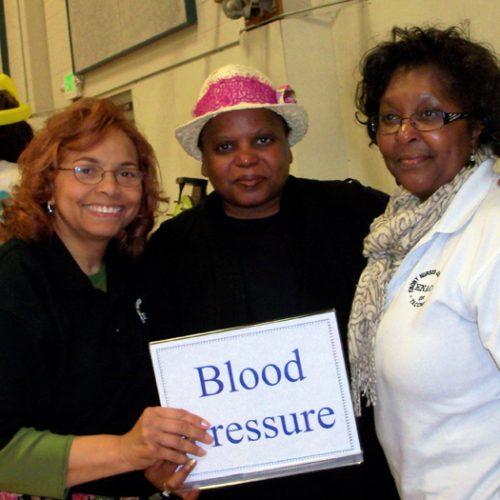 ENAOT- Hilltop Health Carnival - 2012  Shirley, Pam, Lynda.