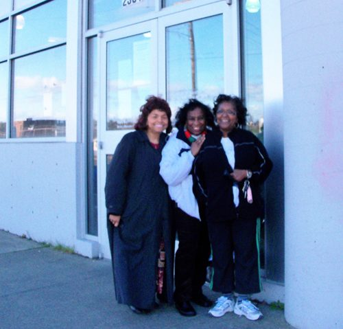 ENAOT Members - Shirley, Adriene, Lynda @ Nativity House.