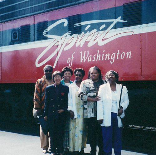 Idella, Mary Harrison, Shirley, Lynda, Anne, Ms. Harmon.