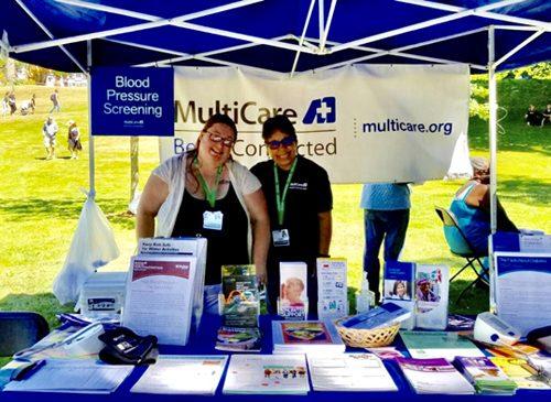 Multicare volunteers.