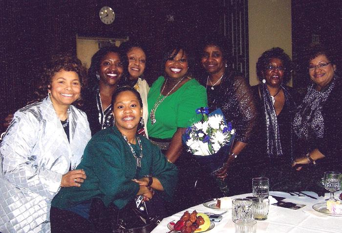 Shirley, Shana, Sheri, Gwen, Crystal, Idella, Lynda, Victoria